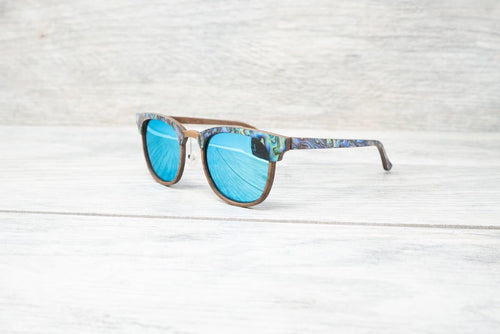SLYK Mermaid & Beach  Comber Abalone Shell Sunglasses