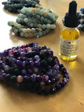 Handcrafted Essential Oil Diffuser Bracelets for Fundraisers - Mermaids on Cape Cod-Official Mermaid Gear