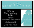 It's A Mermazing Life Sparkle Hoodie-2 styles