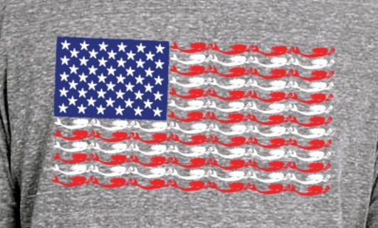 Mer-Merica the Beautiful Hoodie
