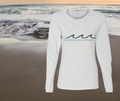 """Happiness Comes In Waves"" Mantra Tee"