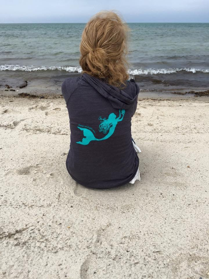 Cape Greys Beach Yoga Hoodie Separates  (ships 5/20)