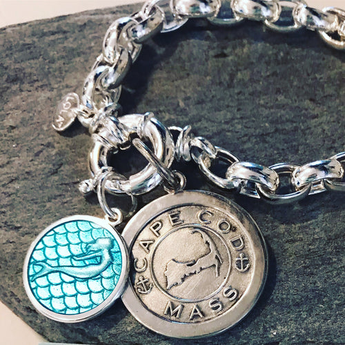 LOLA - Chains & Sterling Accessories (Charms Sold Separately) - Mermaids on Cape Cod-Official Mermaid Gear