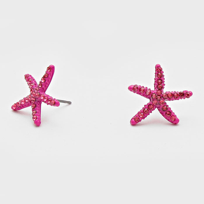 Starfish Studs - Mermaids on Cape Cod-Official Mermaid Gear
