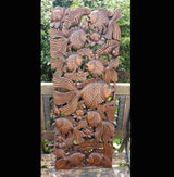 Copy of Carved Wooden 3ft Fish Wall Panel 02 Thai Wood Carvings - AsianWoodCraftUK