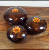 Mango Wood Pebbles Tea Light Holder - AsianWoodCraftUK