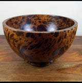 mango wood medium deep bowl - AsianWoodCraftUK