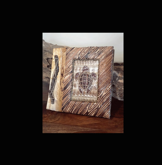 Natural Materials Hand Made Photo Album 012 - AsianWoodCraftUK