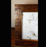 Reclaimed Teak wood XL Tiled Photo Frame - AsianWoodCraftUK