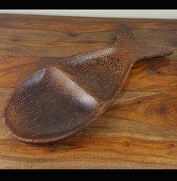 Coconut Wood Fish Shape Serving Dish/Platter/Tray - AsianWoodCraftUK