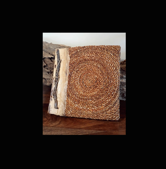 Natural Materials Hand Made Photo Album 017 - AsianWoodCraftUK