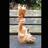 Parasite Wood Seahorse,Sealife,Whales and Dolphins - AsianWoodCraftUK
