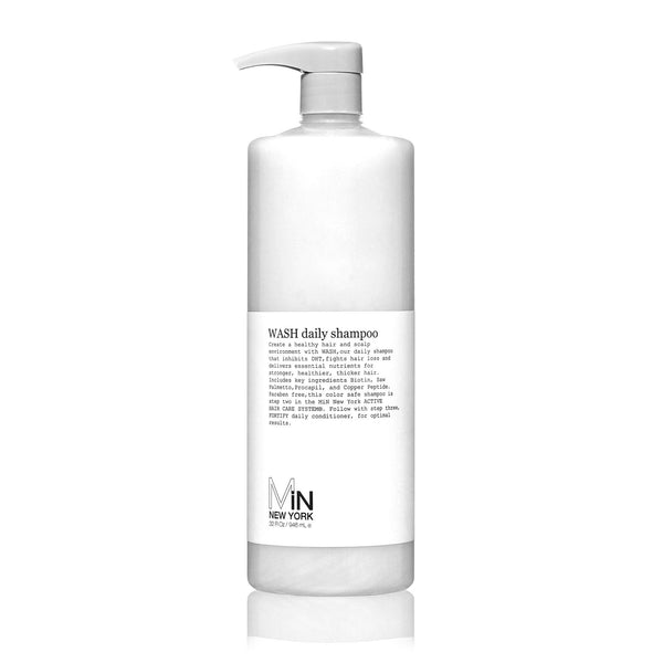 MiN New York: WASH | Daily Shampoo DHT Blocker 32oz