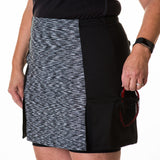 Women's exercise skirt, custom-fit, three pockets