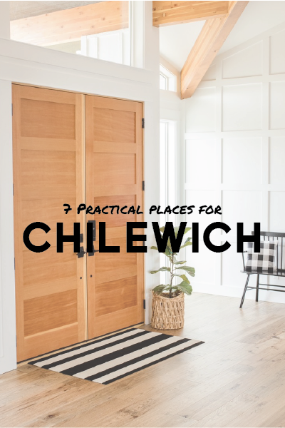 7 Practical Places for Chilewich