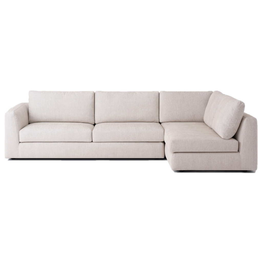 Excellent Cello 2 Piece Full Arm Chaise Sectional Fabric Cjindustries Chair Design For Home Cjindustriesco
