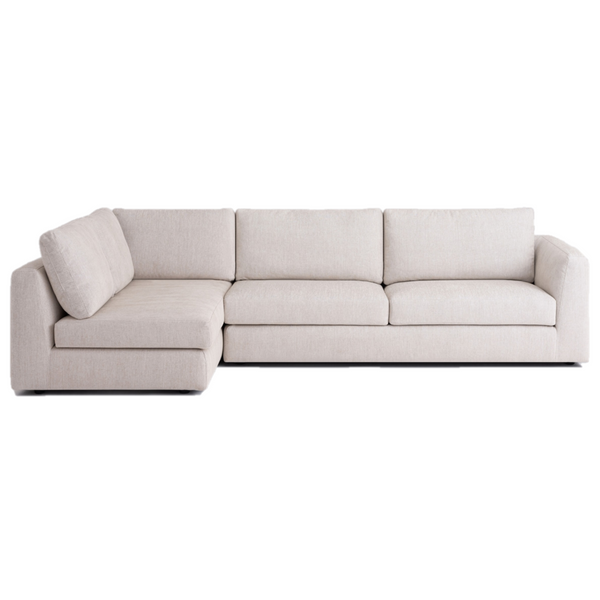 Cello 2 Piece Full Arm Chaise Sectional Fabric Plus