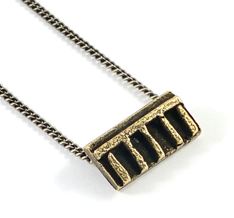 African Gold Weight Casting Collection -  Abidjan Necklace