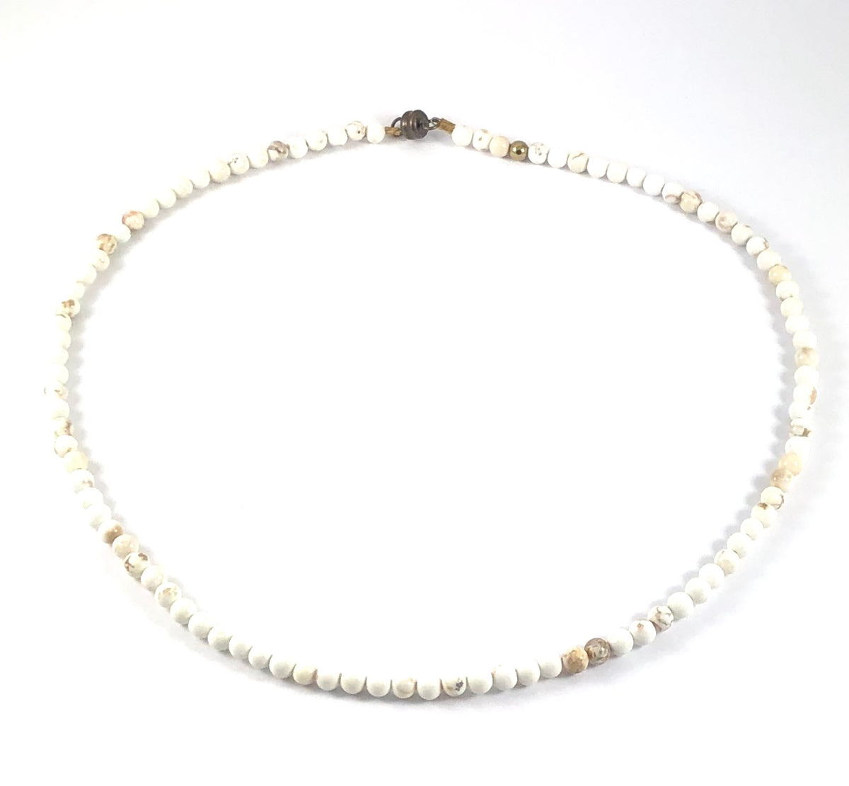 Semi-Precious Beaded Choker Necklace