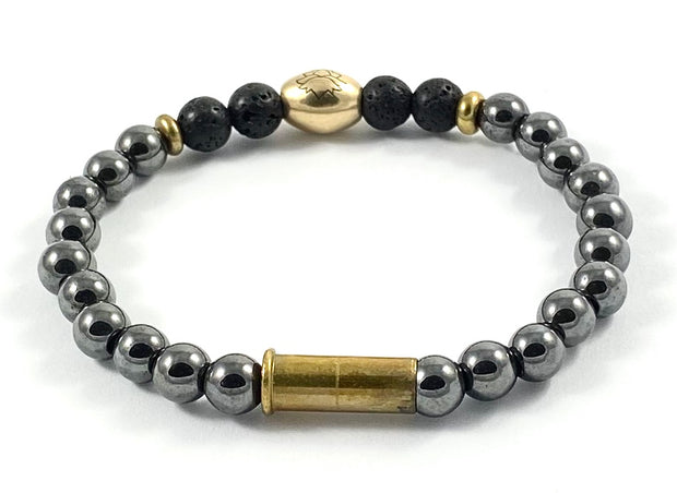 Recycled Casing Stretch Diffuser Bracelet - 6mm