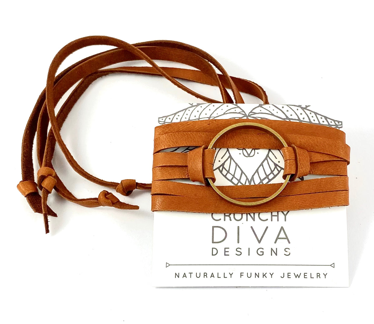 Tan Leather Wrap