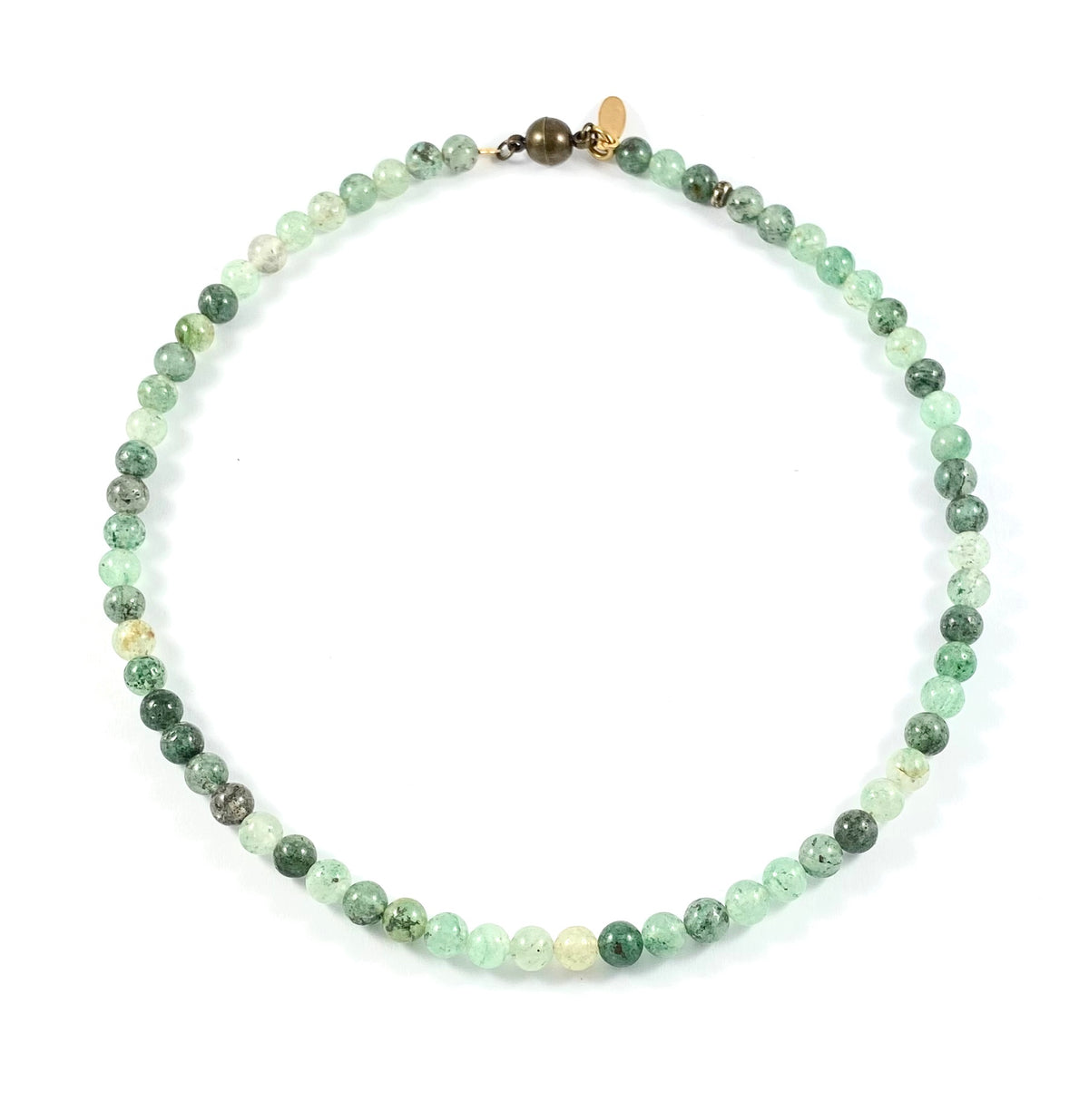 Semi-Precious Beaded Necklace - 6mm