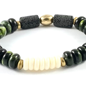 Resin Diffuser Stretch Bracelet - 10mm