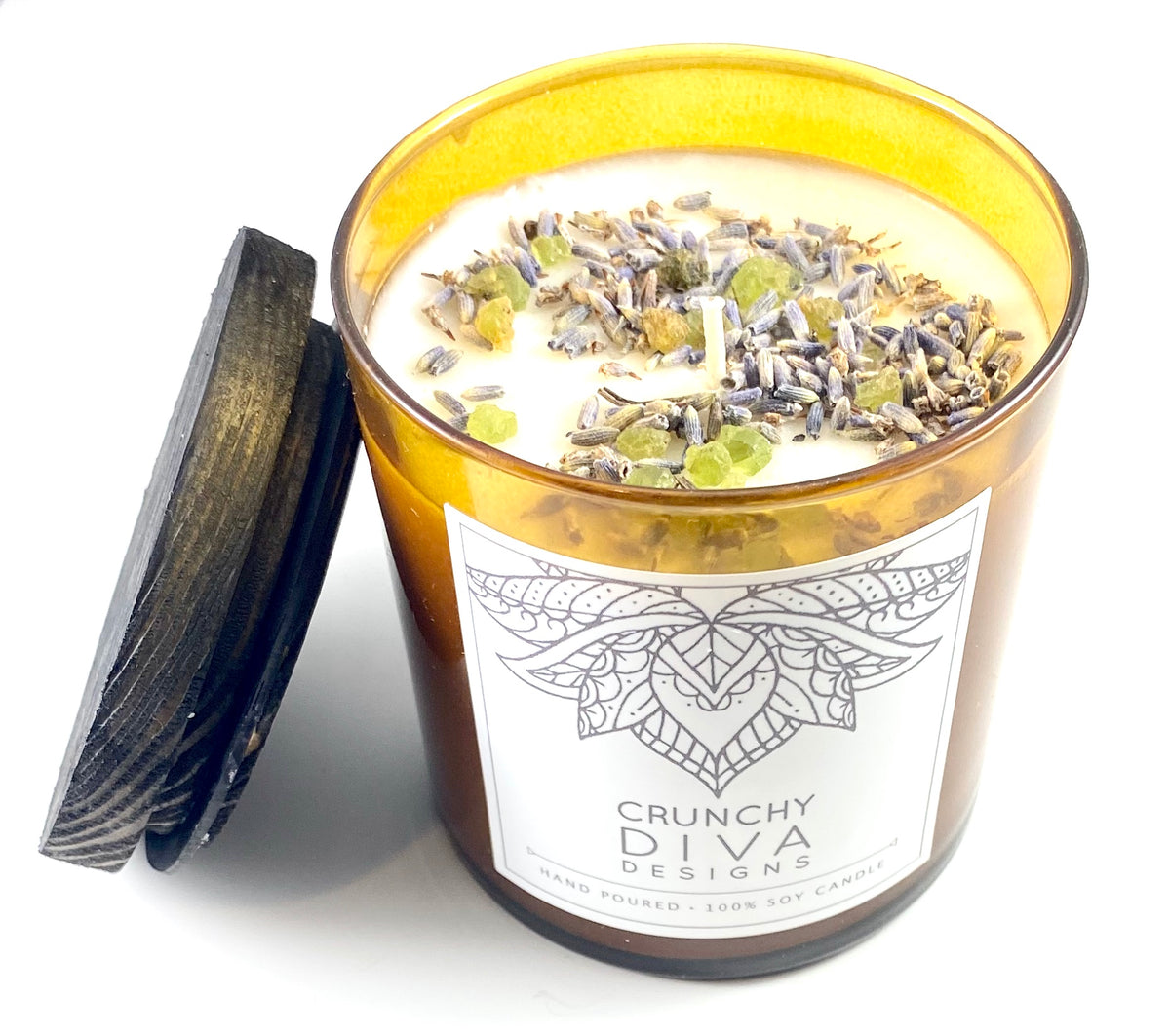 Crunchy Diva Designs Soy Candles - Large