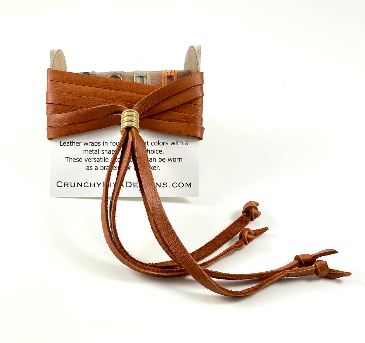Tan Leather Wrap - 5mm