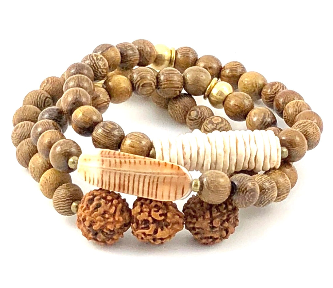 Naturals Stretch Bracelet Set - Gypsy