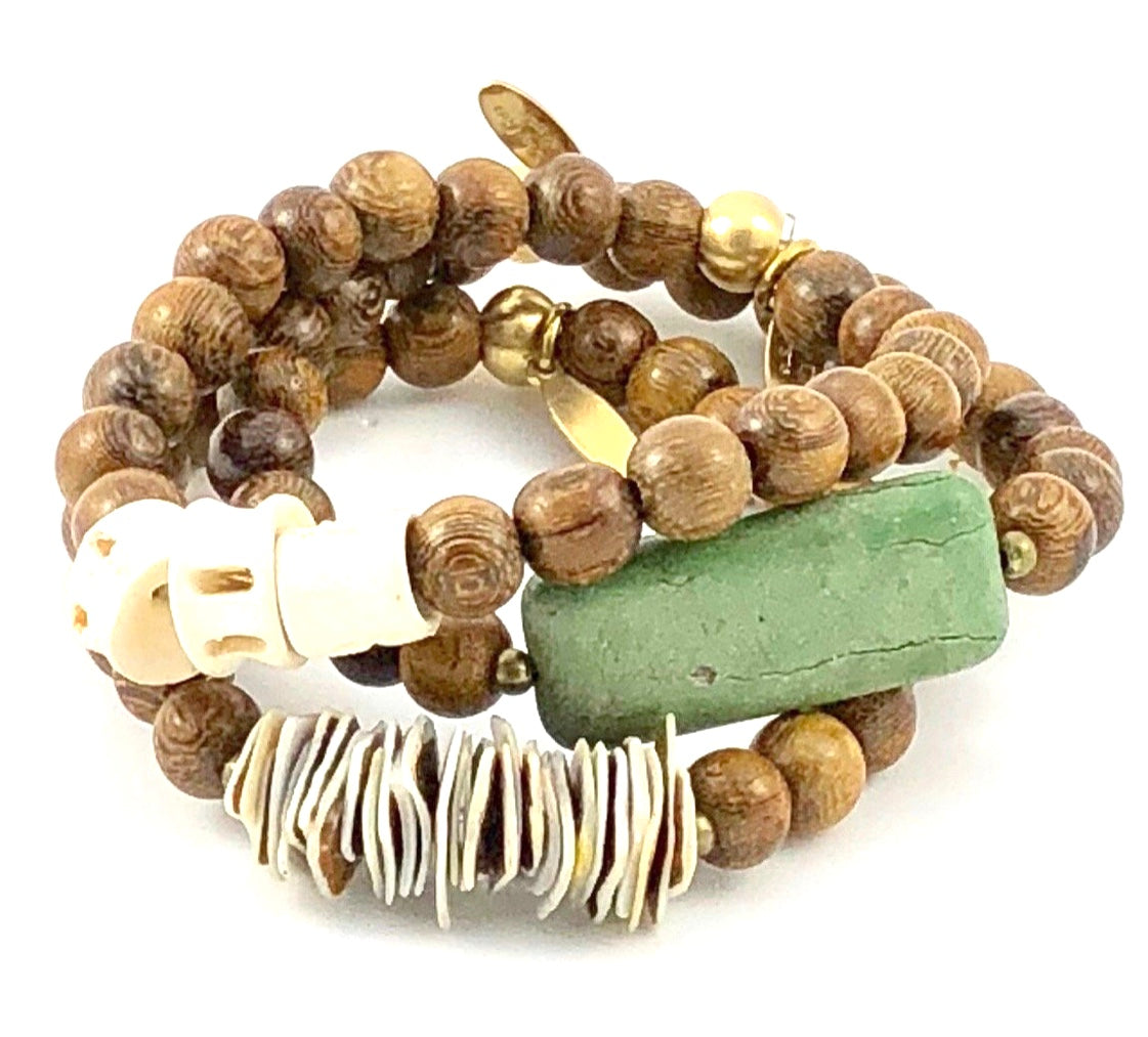 Sale Naturals Stretch Bracelet Set - Maverick