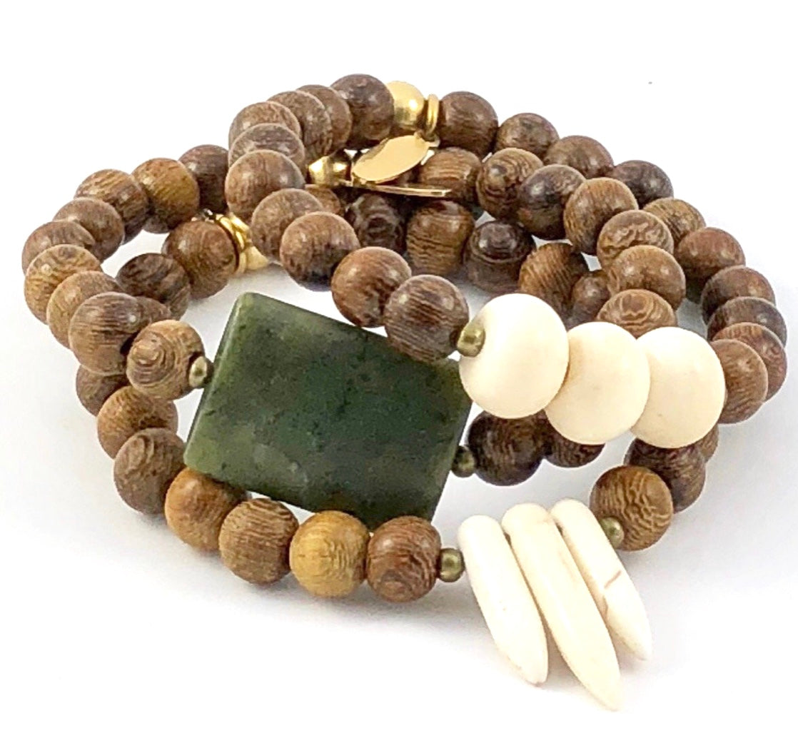 Sale Naturals Stretch Bracelet Set - Free Spirit