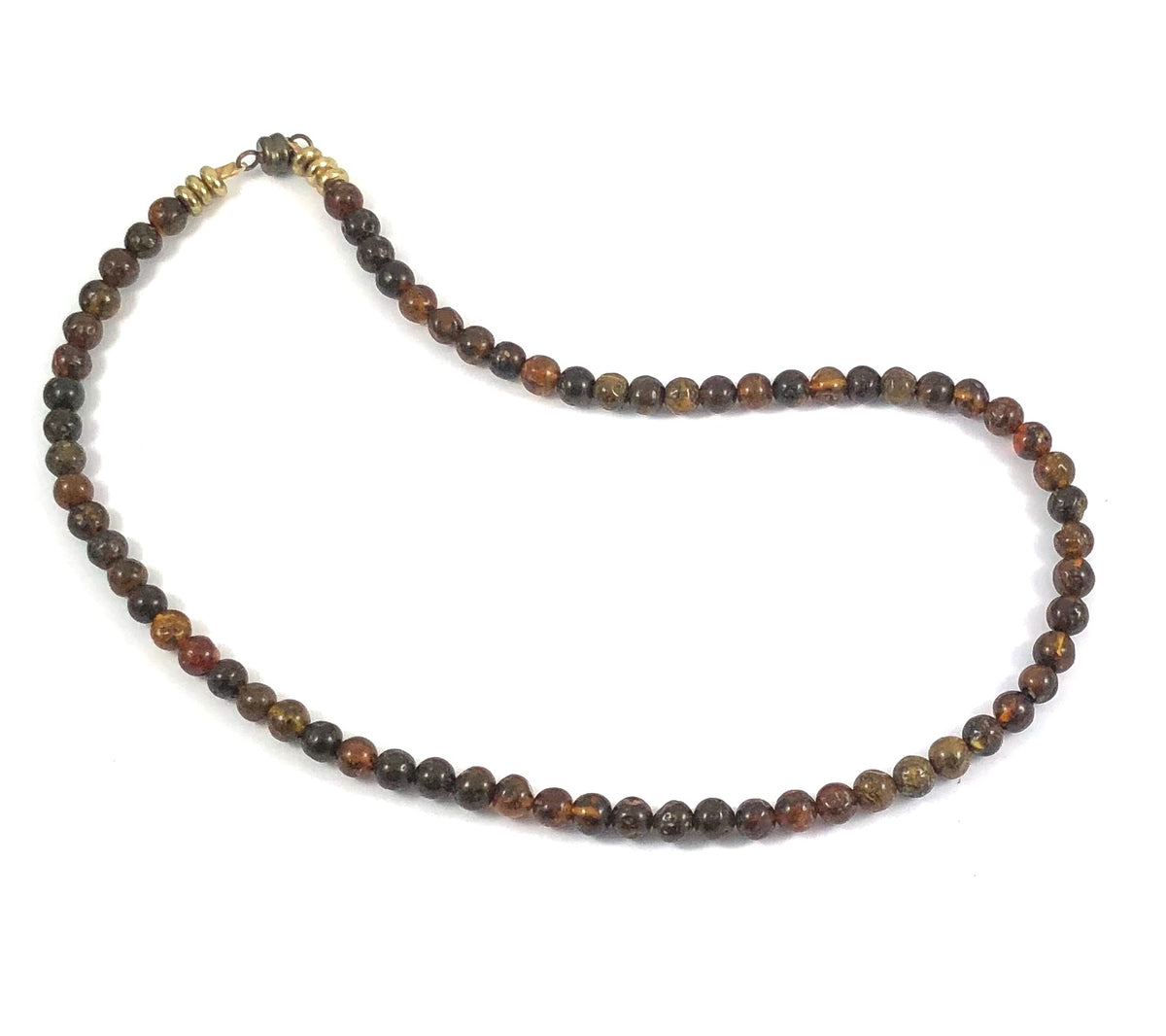 Amber Beaded Wrap - 6mm