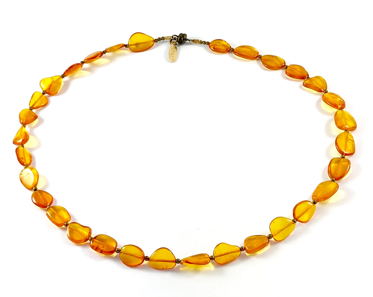 Semi-Precious Nugget Beaded Necklace