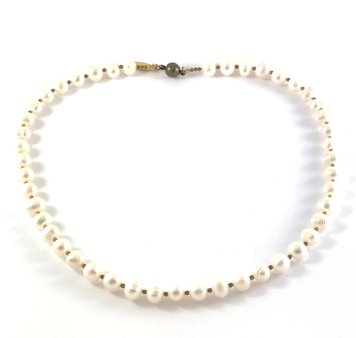 Fresh Water Pearl Collar Necklace