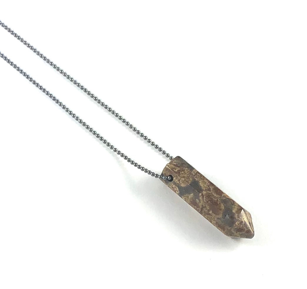 Point Diffuser Necklace - Small