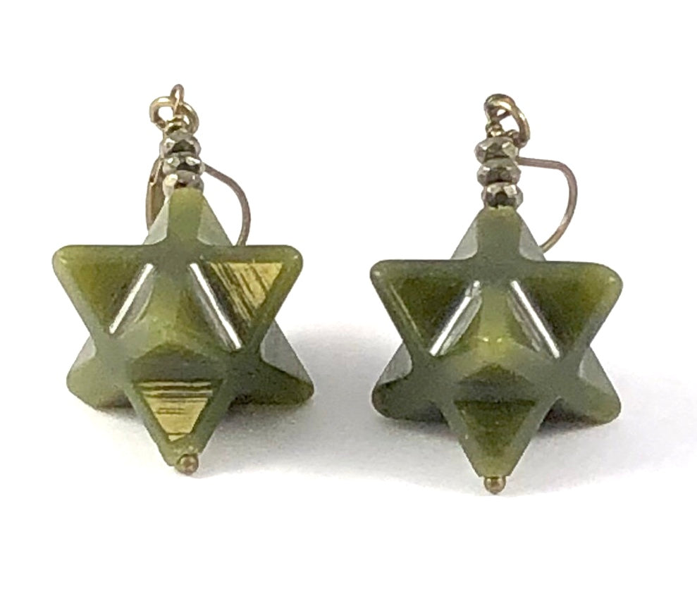 Sale Merkabah Star Earrings