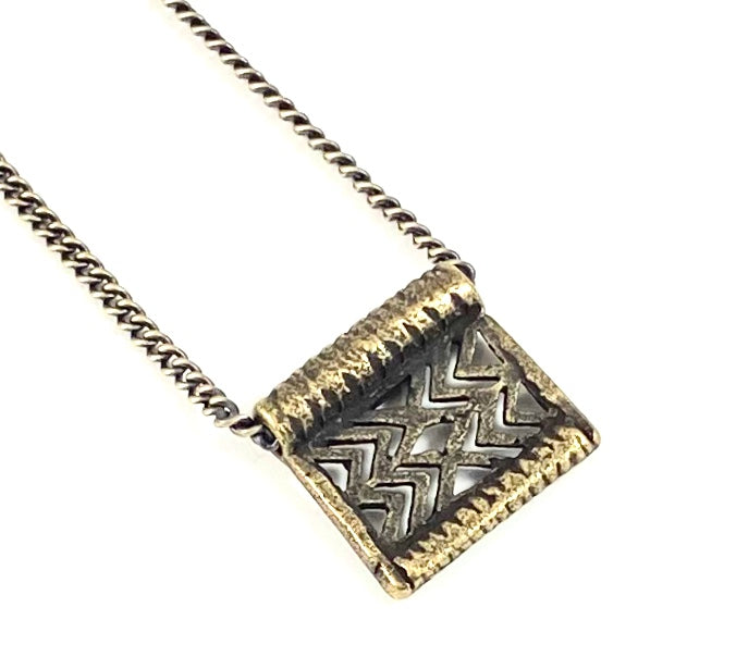 Thai Belt Casting Collection -  Chevron Necklace