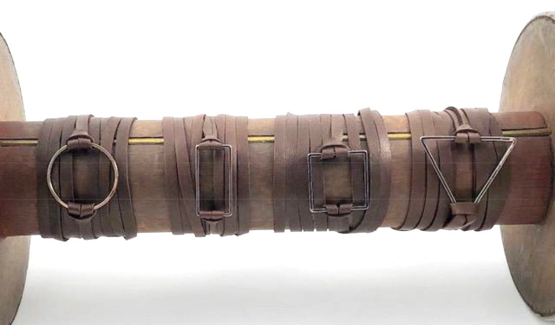Brown Leather Wrap