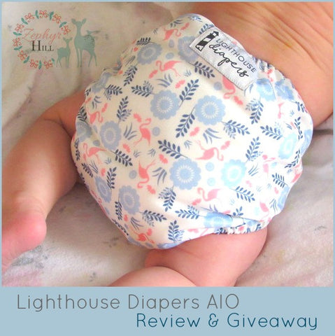 Zephyr Hill Lighthouse Diapers