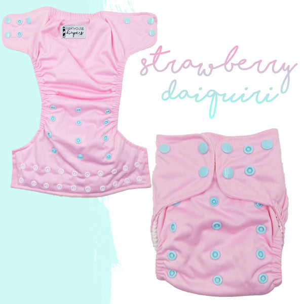 Lighthouse Diapers - Strawberry Daiquiri