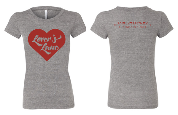 Lovers Lane Ladies Jr Fitted Tee