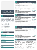 Jade Clean Resume Template and Cover Letter - 13 - GemResume