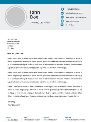 Modern Resume Template and Cover Letter - 15 - GemResume