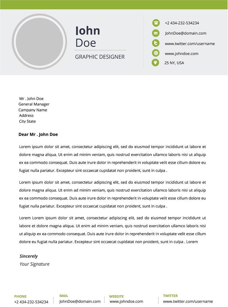 Modern Resume Template and Cover Letter - 16 - GemResume