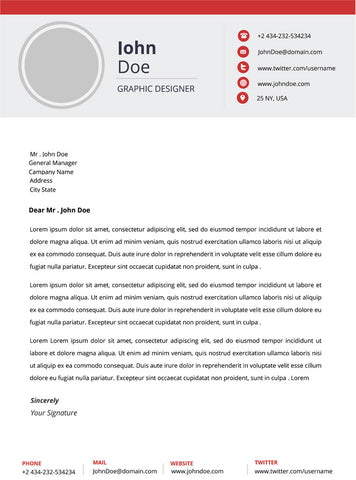 creative resume template and cover letter 18 gemresume - Modern Cover Letter Template