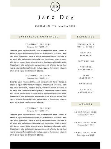 simple resume template and cover letter 21 gemresume - Simple Resumes Templates