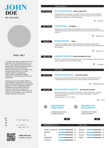 Simple Resume Template and Cover Letter - 20 - GemResume