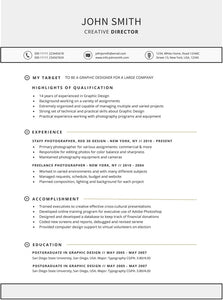Targeted Resume Template - GemResume