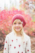 Morgan Slouchy Hat in Red